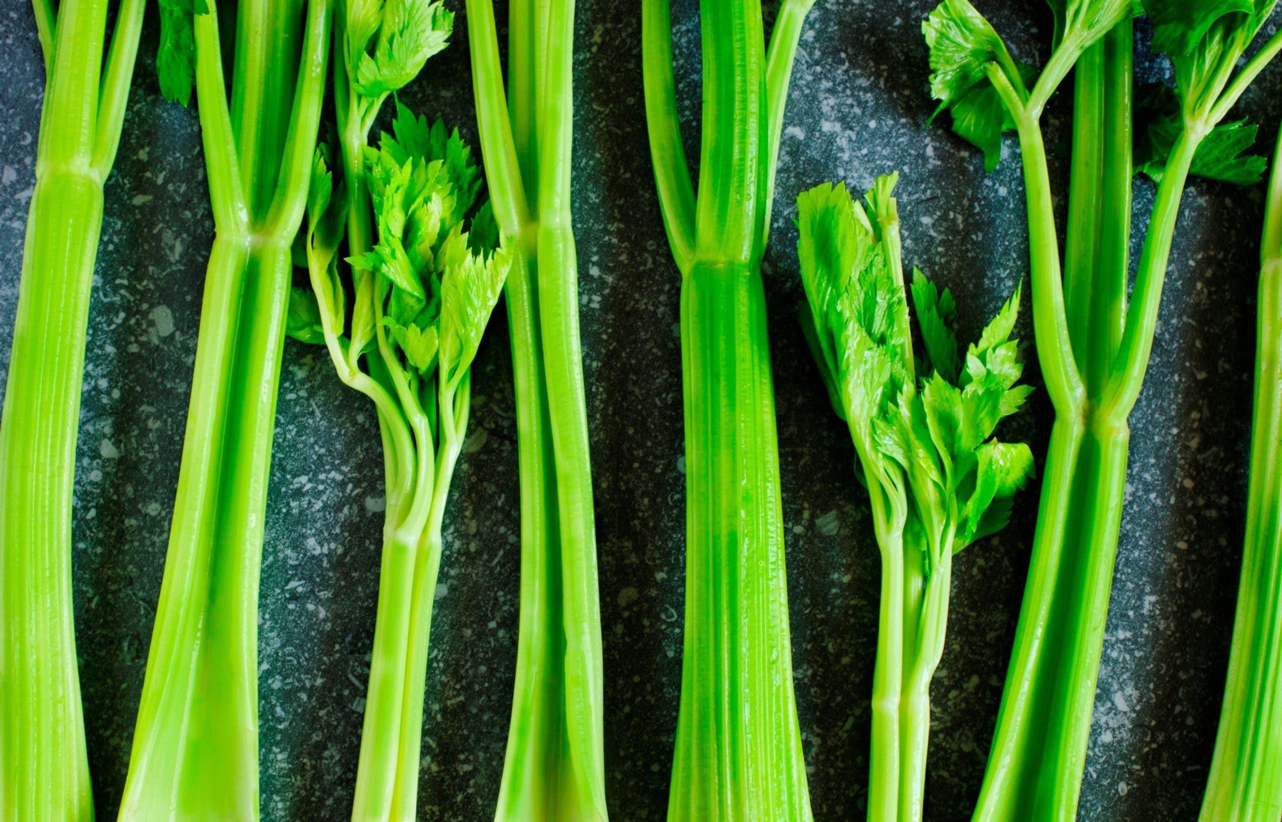 feuilles de celeri