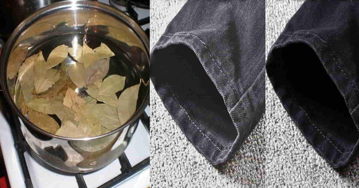 L'astuce naturelle pour récupérer les vêtements décoloré