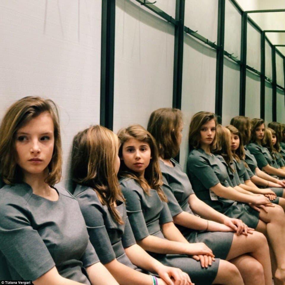 filles miroir