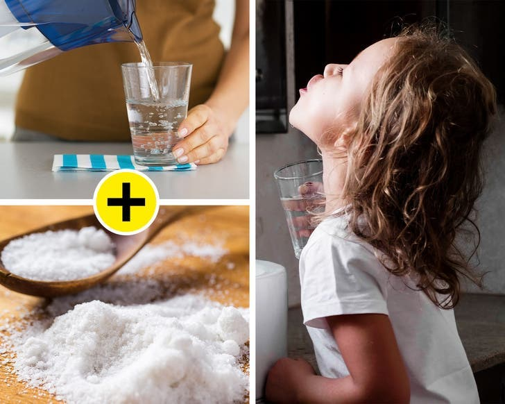 gargarisme eau salée