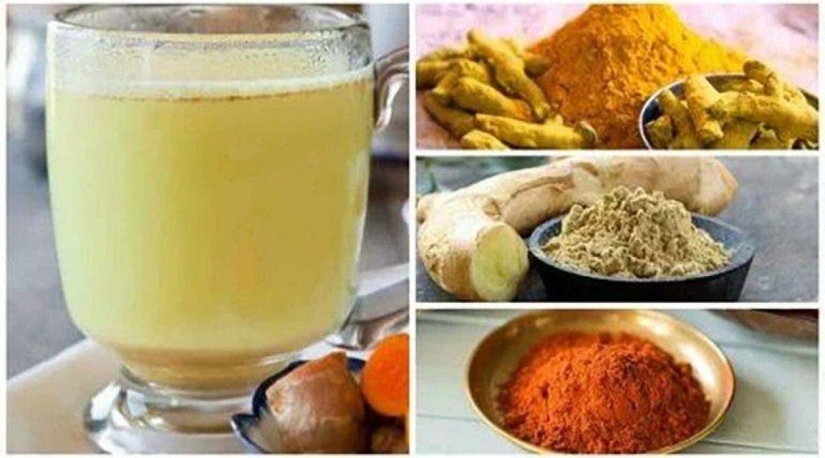 La recette du célèbre thé au gingembre et curcuma pour..