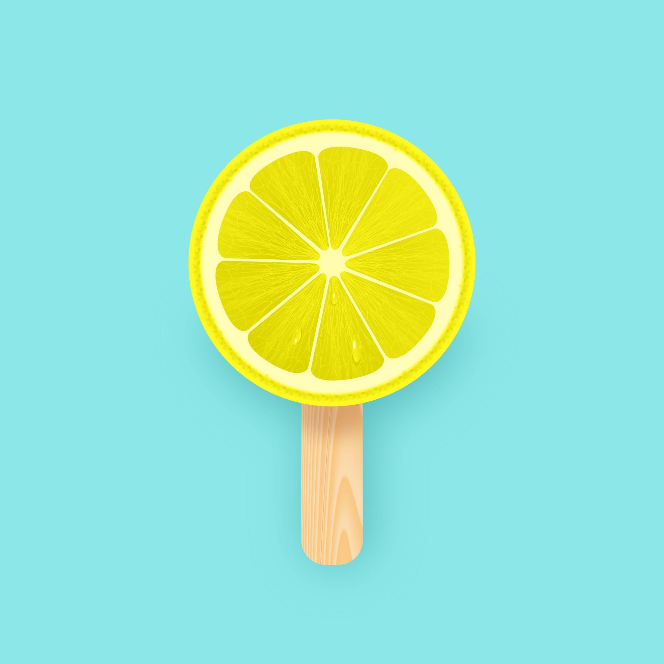glace au citron