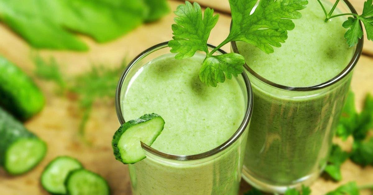 5 smoothies verts pour brûler les graisses et détoxifier l'organisme !