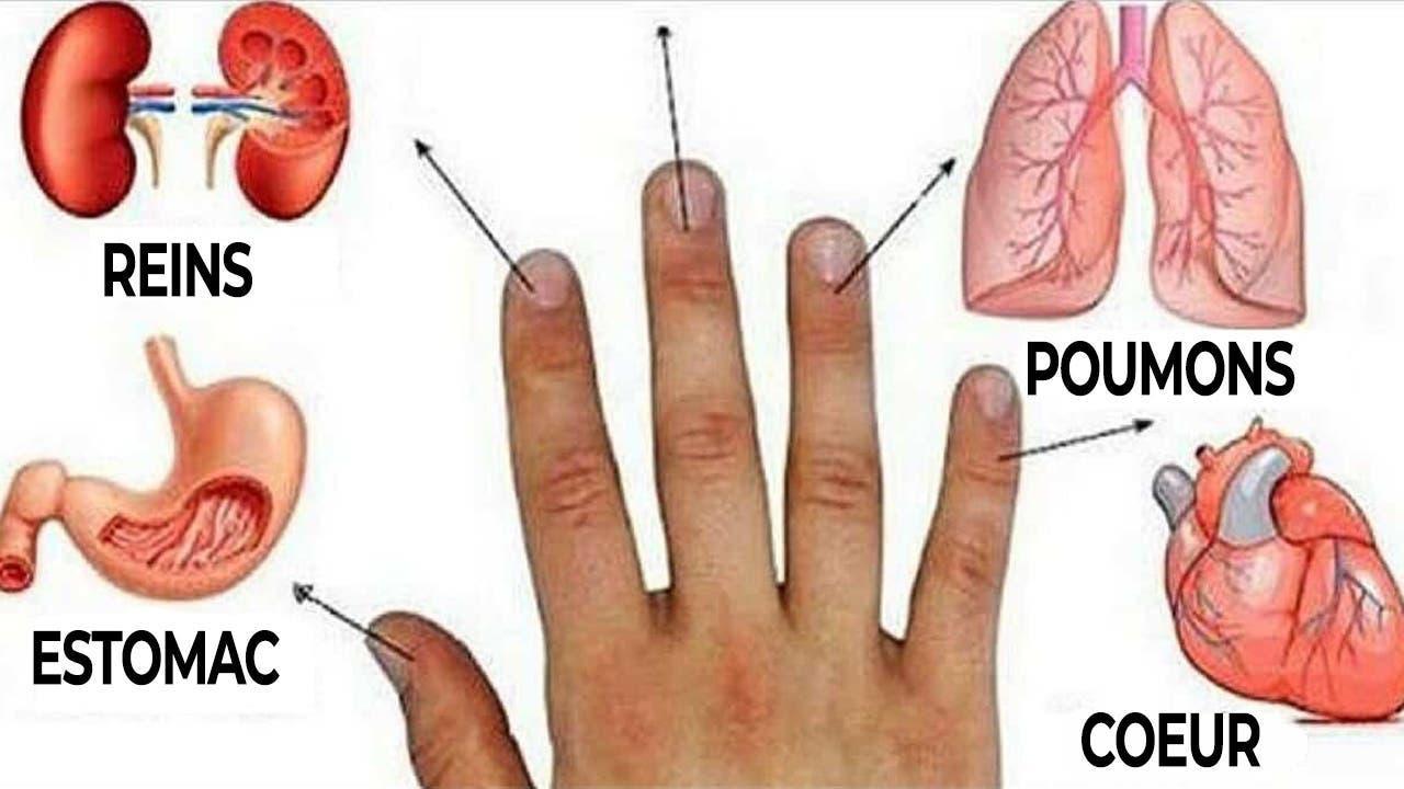 guerir le corps avec les doigts