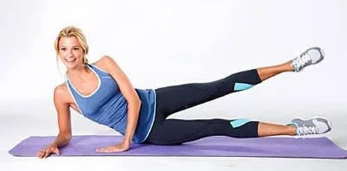 Ce mouvement aide à avoir un ventre plat et bruler les graisses