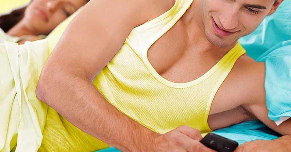 Est-il normal qu'un homme ne laisse pas sa femme toucher son téléphone ?