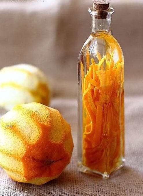 huile aromatisee orange