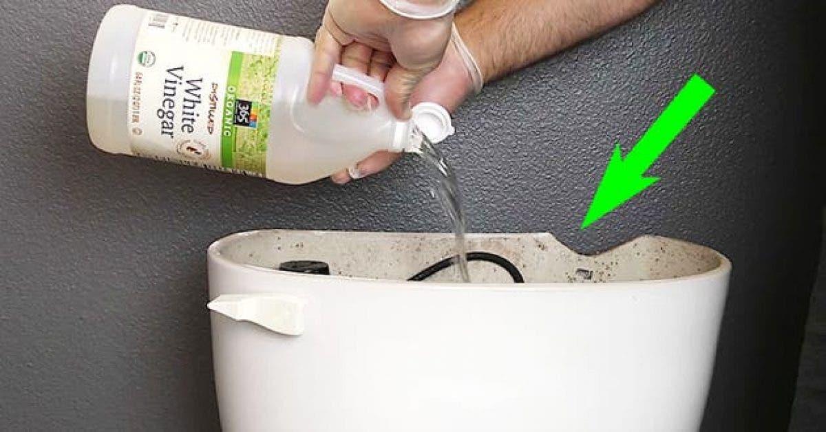 7 astuces pour nettoyer vos toilettes et votre salle de bain pour les  rendre comme neuf