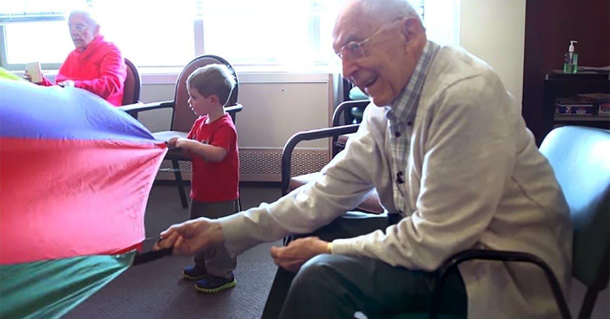 ils ont mis une ecole maternelle dans une maison de retraite et ca a change la vie de tout le monde 1 1
