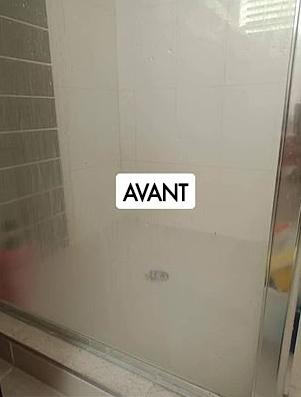 Parois de douche (avant)