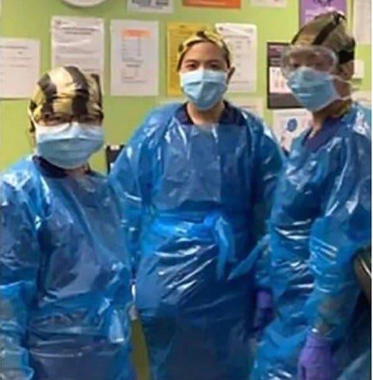 infirmiers sac en plastique