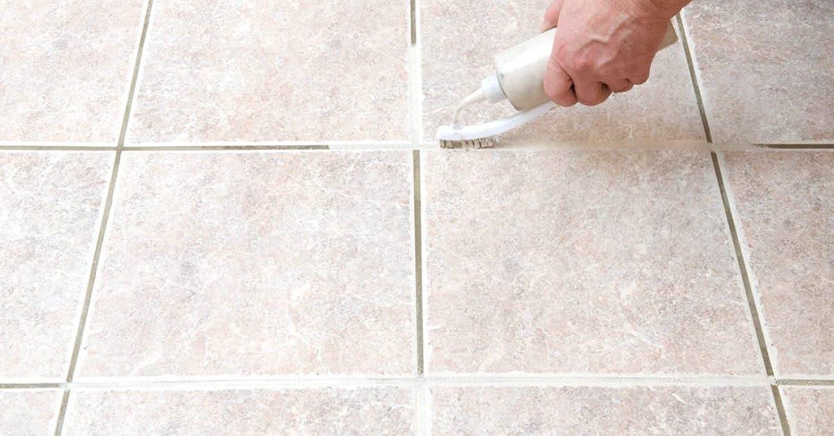 Comment nettoyer les joints de carrelage avec des astuces de grands-mères