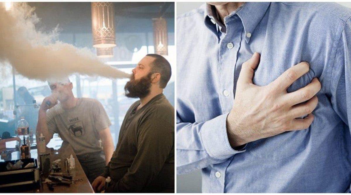 la cigarette électronique peut provoquer une crise cardiaque et une dépression