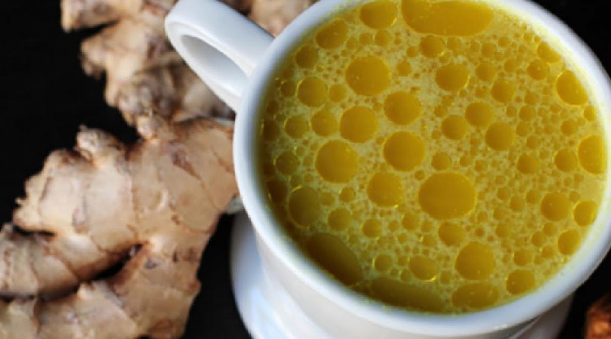 Thé au curcuma et gingembre : la meilleure boisson en hiver contre toutes les maladies