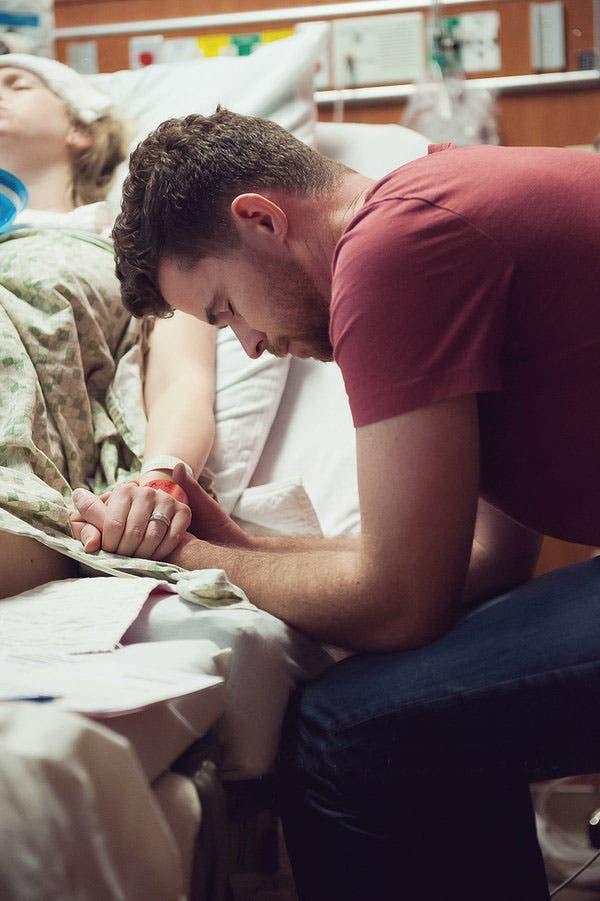 La prière d'un papa