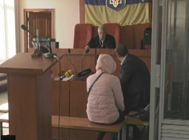 la victime au tribunal