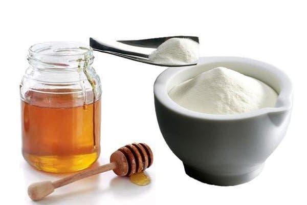 lait en pourdre miel