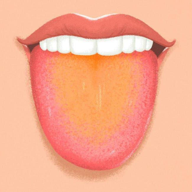 langue jaune