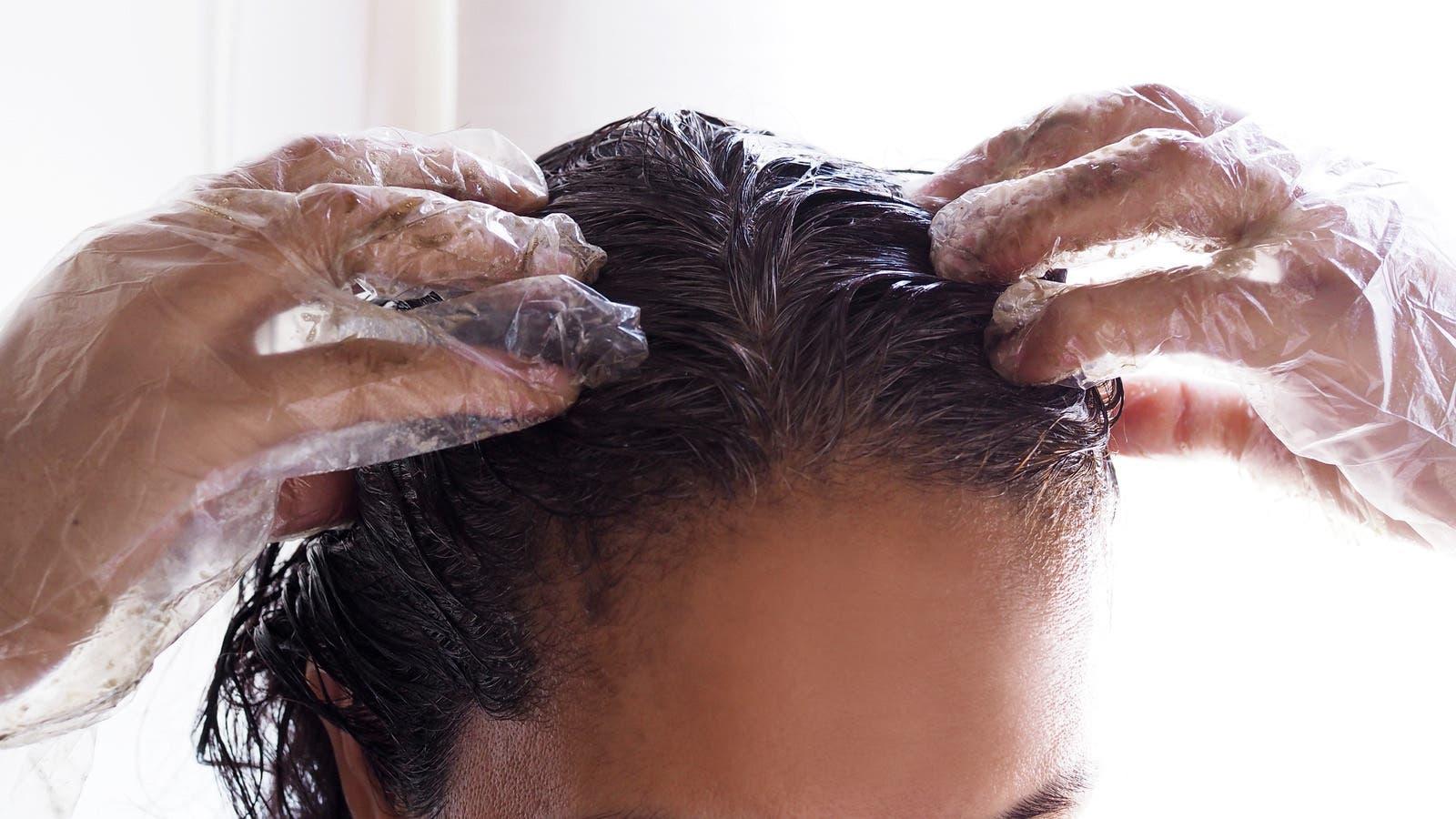 lavage au shampoing