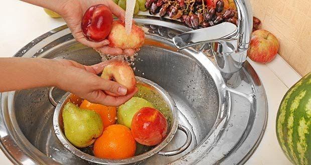 lavage fruits legumes