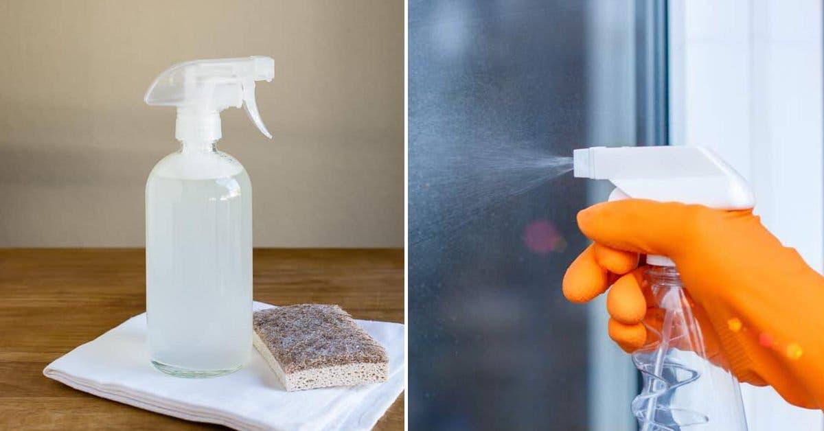 Comment utiliser le vinaigre blanc pour nettoyer les vitres ?