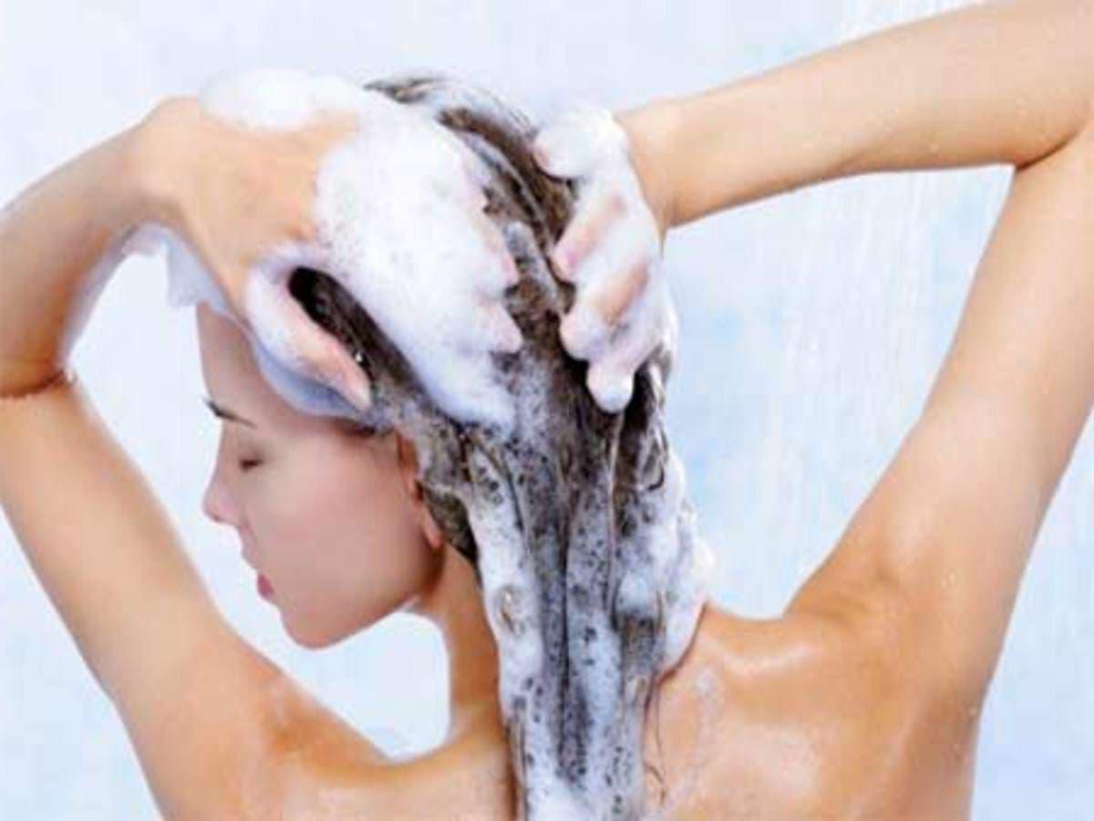 lavez les cheveux