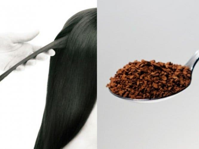 Le café pour estomper les cheveux blancs