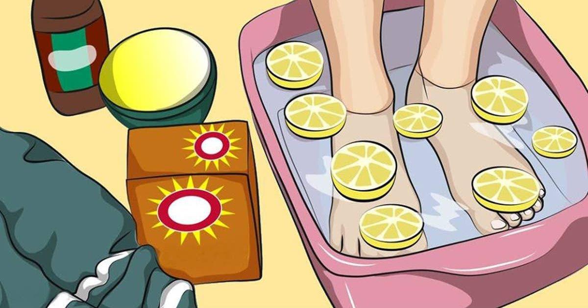 le bain de pieds au citron qui vous aide a detoxifier tout votre corps 1