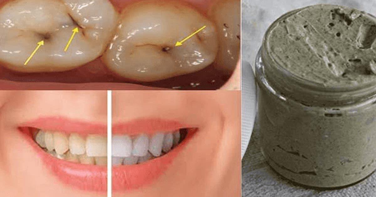 le dentifrice fait maison qui blanchit les dents soigne les caries et les maladies des gencives 1
