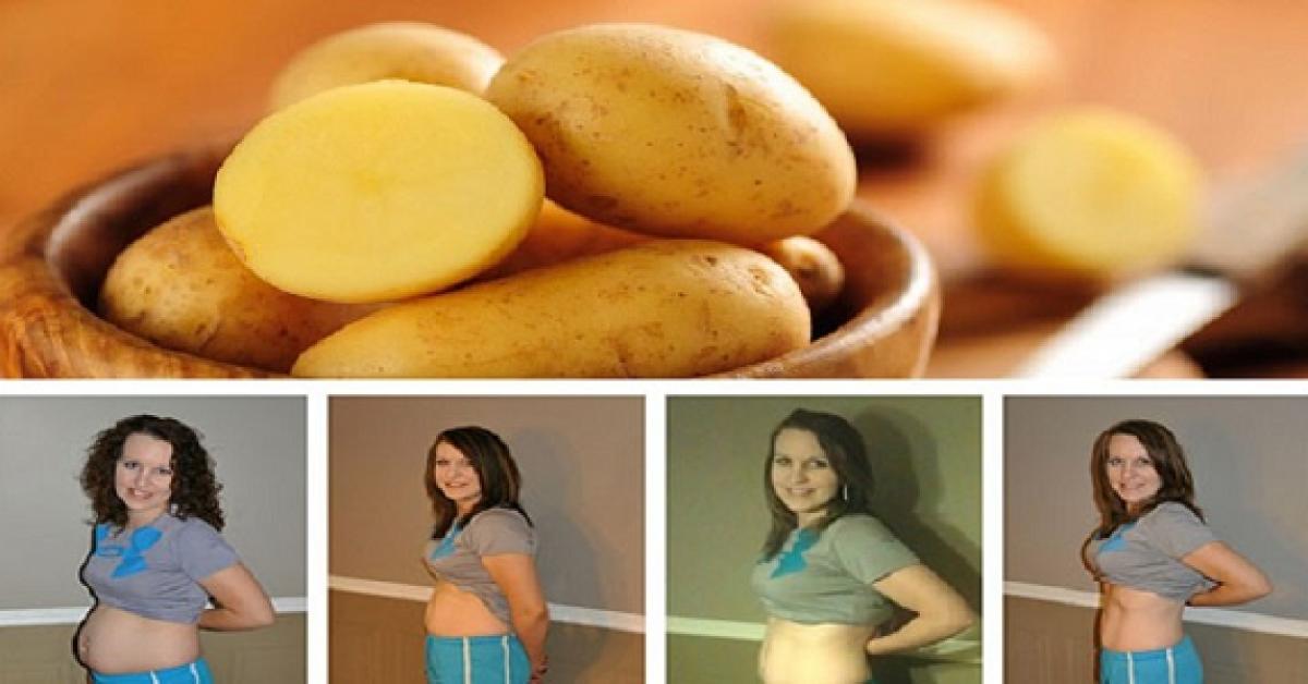 le regime de pommes de terre une perte de poids incroyable 1