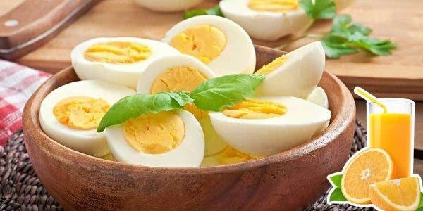 le régime orange et oeufs pour perdre 8 kilos en 15 jours