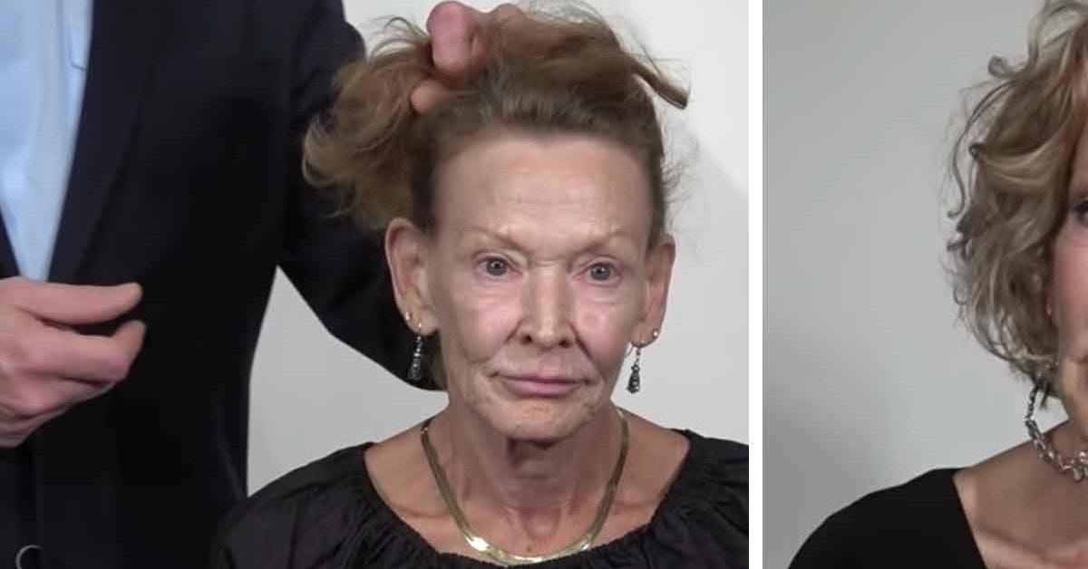 Cette mamie de 69 ans en avez marre de son look