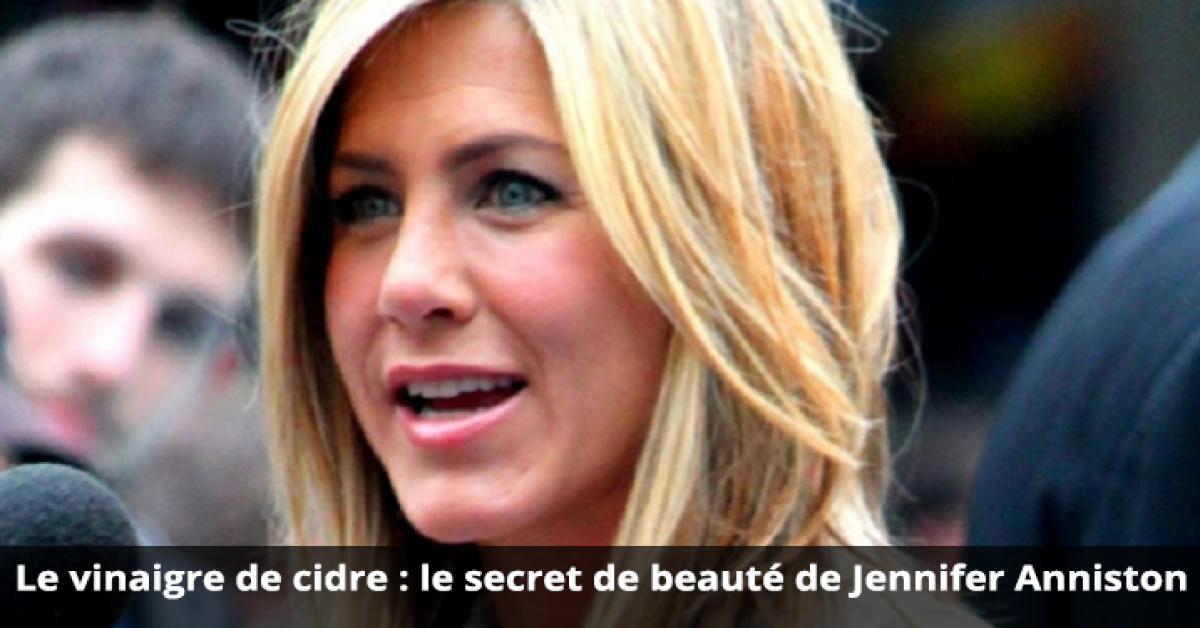 le secret de beauté de Jennifer Anniston