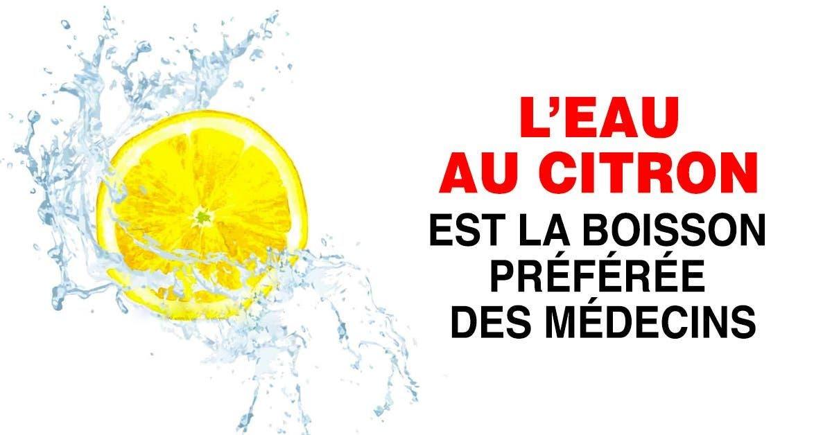 choses qui se produisent dans votre corps lorsque vous buvez de l'eau au citron