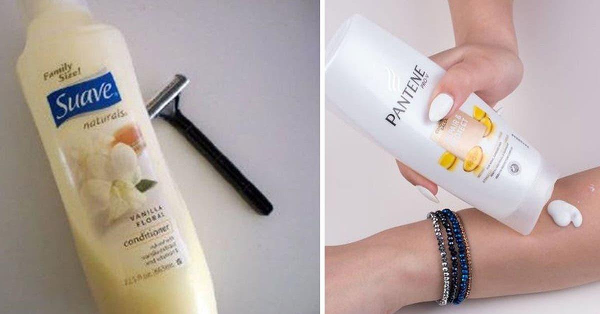 les-14-utilisations-surprenantes-et-pratiques-de-lapres-shampoing-a-connaitre