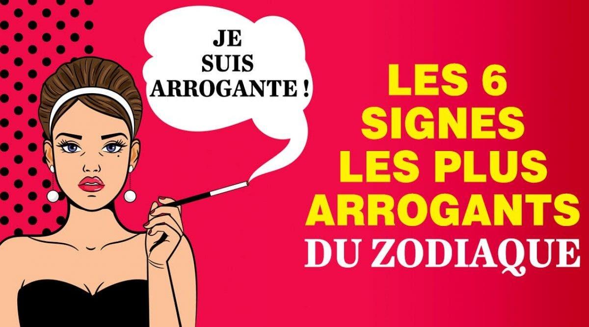 Les 6 signes les plus arrogants du zodiaque
