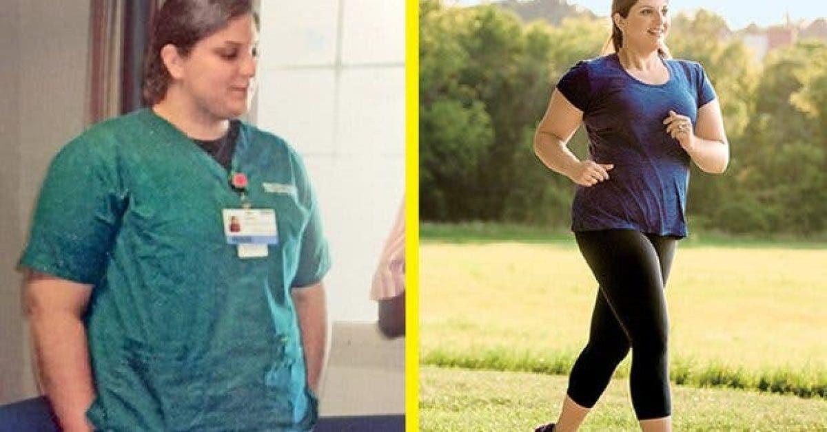 les astuces de cette femme pour perdre 55 kilos 1