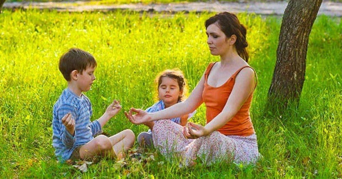 les bienfaits de la meditation pour enfant 1