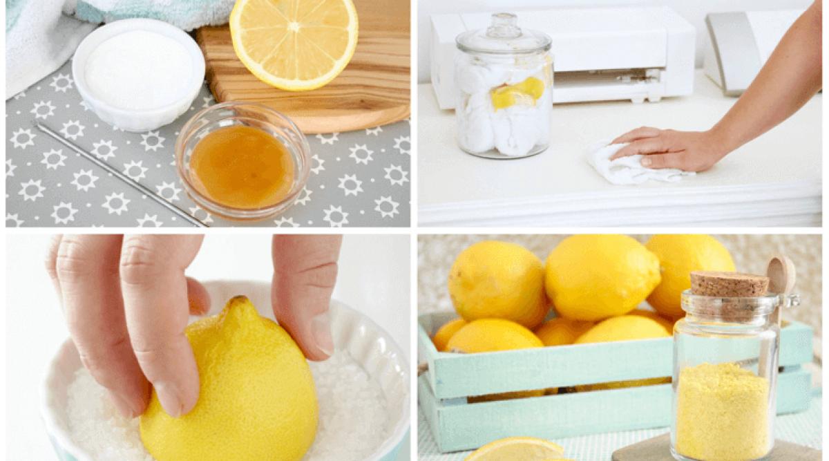 d'utiliser les citrons dans votre maison