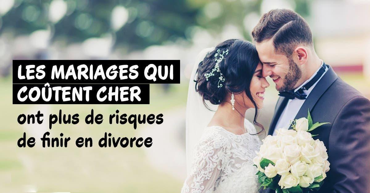 les mariages qui coutent cher ont plus de risques de finir en divorce 1
