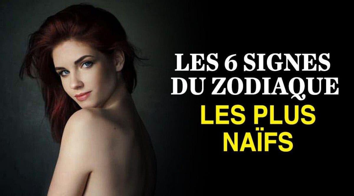 signes du zodiaque les plus naïfs d'après les astrologues