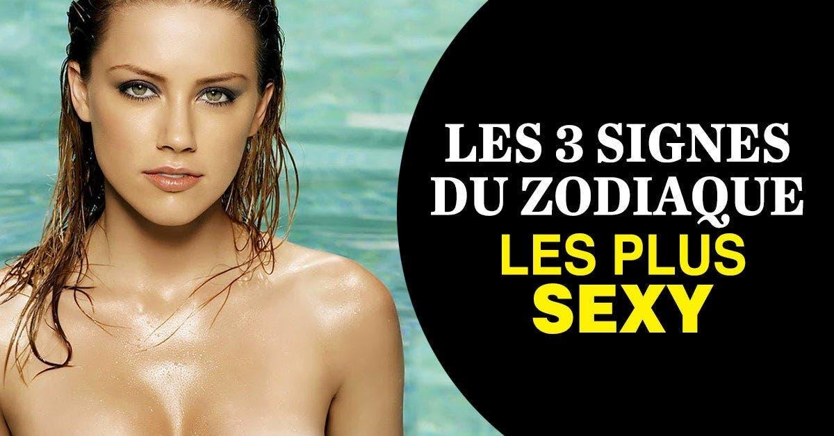 Les 3 signes du zodiaque les plus sexy