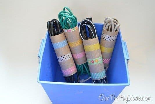 les rouleaux de papier toilette