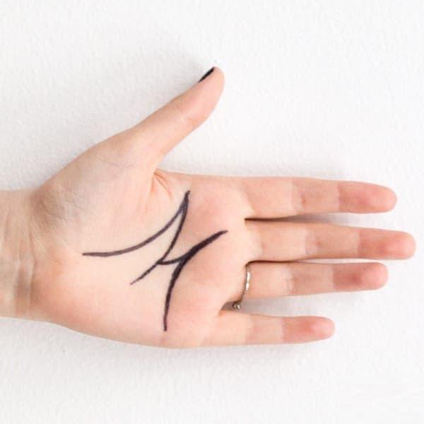 Les gens qui ont la lettre M sur la main ont une personnalité exceptionnelle