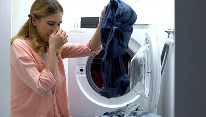 linge mauvaise odeur