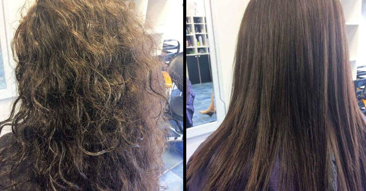 6 façons de lisser vos cheveux naturellement à la maison
