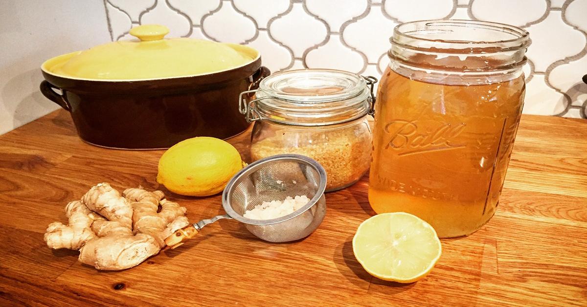 L'eau au citron
