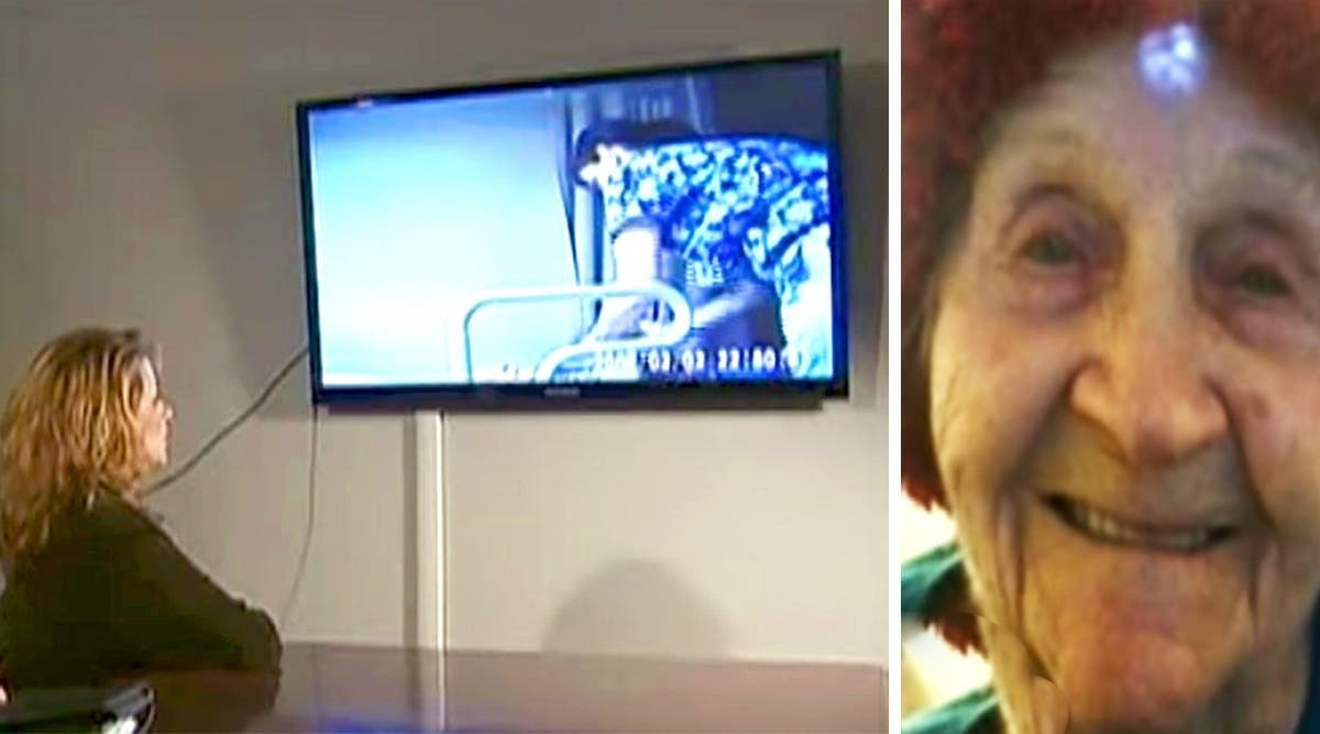 Elle cache une caméra dans la maison de retraite de sa mère et la vidéo montre la méchanceté du personnel