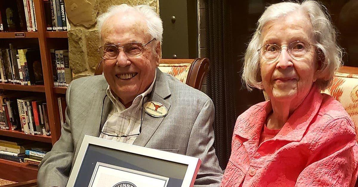 lun des plus vieux couples du monde revele le secret pour avoir une longue vie et un mariage reussi 1