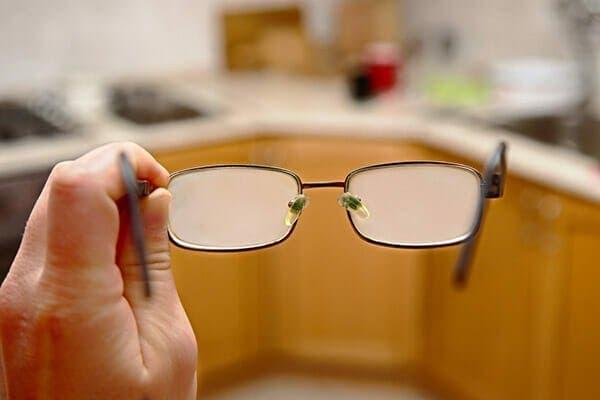 lunettes propres